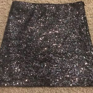 Sequined Guess Mini Skirt